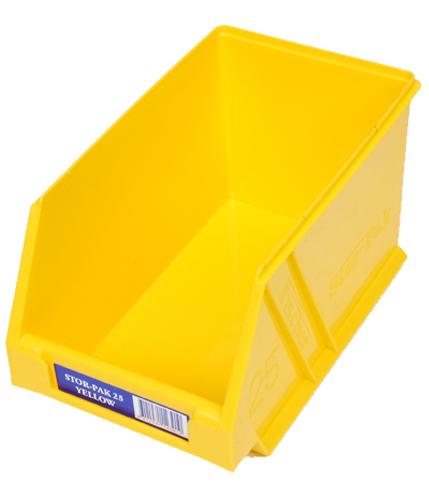 Stor-Pak 25 Yellow P20 Bin