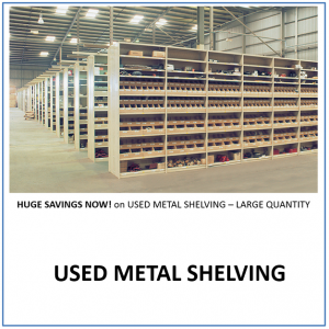 Used Metal Shelving V1